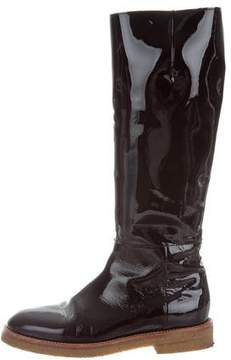 Marni Patent Leather Knee-High Boots