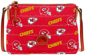 Dooney & Bourke Kansas City Chiefs Nylon Crossbody Pouchette - RED - STYLE