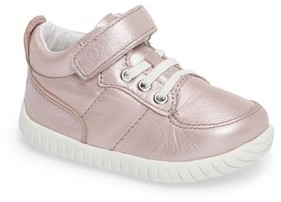 Stride Rite Infant Girl's Bailey High Top Sneaker