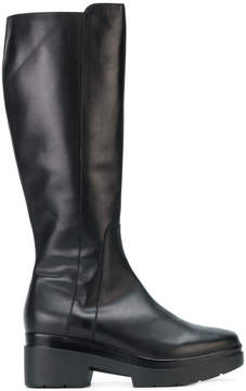 Albano chunky zipped boots