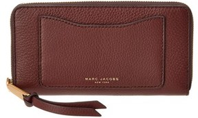 Marc Jacobs Recruit Leather Continental Wallet. - BROWN - STYLE