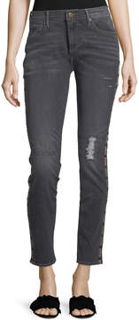 Driftwood Marilyn Distressed Ankle Jeans