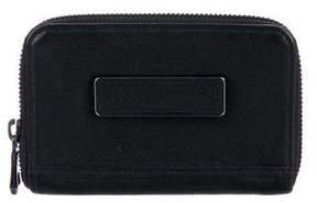 Longchamp Leather Zip-Around Wallet