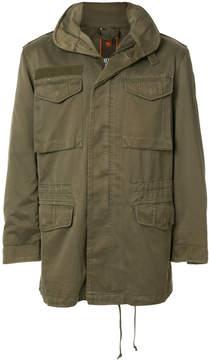 MHI cargo pocket hooded jacket