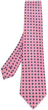 Kiton all over print tie