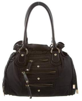 Tod's Leather-Trimmed Nylon Tote