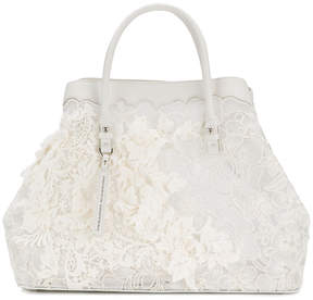 Ermanno Scervino sheer lace tote