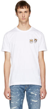 Dolce & Gabbana White Crown Designers T-Shirt