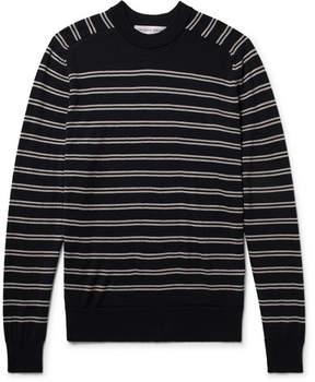 Orlebar Brown Lucas Slim-Fit Striped Merino Wool Sweater