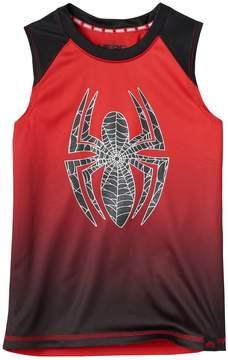 Spiderman Boys 4-7x Marvel Hero Elite Series Collection for Kohl's Ombre Tank Top
