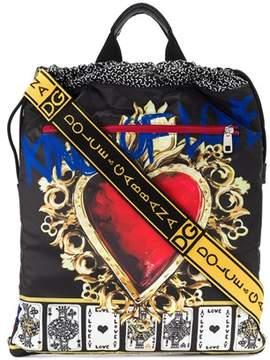 Dolce & Gabbana Dolce E Gabbana Men's Black Polyamide Backpack.