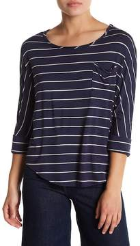 Chaser Stripe Pocket Tee