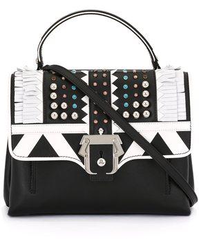 Paula Cademartori fringe embellished shoulder bag