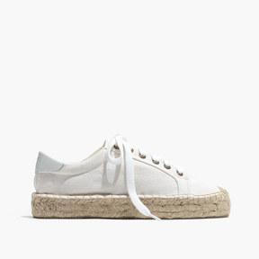 Madewell Soludos® Platform Tennis Sneakers