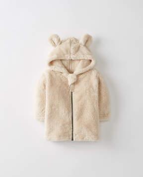 Hanna Andersson Snuggly Marshmallow Bear Jacket