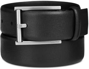 Calvin Klein Men's Leather Feather-Edge Belt