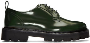 MSGM Green Light Sole Derbys