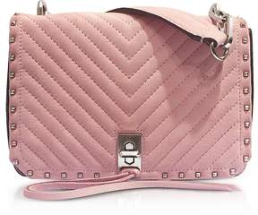 Rebecca Minkoff Blossom Pink Nappa Leather Small Becky Crossbody