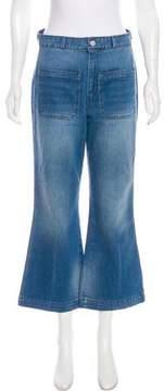 Amo High-Rise Wide-Leg Jeans