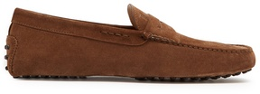 Tod's Gommino suede penny loafers