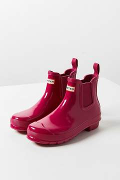 Hunter Chelsea Glossy Rain Boot