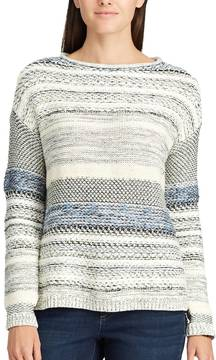Chaps Women's Striped Rollneck Sweater