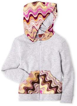 Missoni Girls 4-6x) Zip-Up Fleece Hoodie