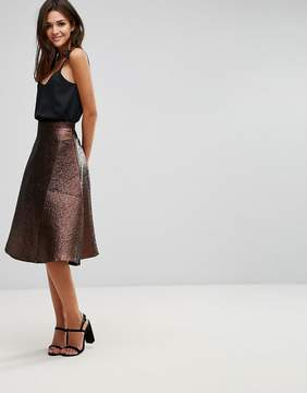 AX Paris Printed Aline Skirt