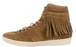 Saint Laurent SL/18H Fringe Sneakers