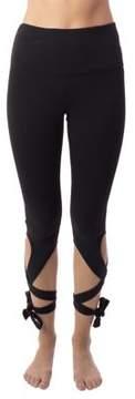 Gaiam Lace-Up Leggings