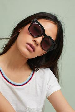 Anthropologie Audrey Ombre Square Sunglasses