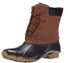 Western Chief Women Waterproof Four-eye Lace-up Duck Up.