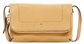 Kate Spade Mariana Mansfield Leather Crossbody Bag - BLACK - STYLE