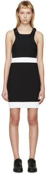 Calvin Klein Collection Black Fitted Winslow Dress