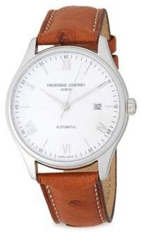 Frederique Constant Classics Index Automatic-Self-Wind Stainless Steel Watch