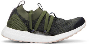 adidas by Stella McCartney Green and Navy UltraBOOST X Sneakers
