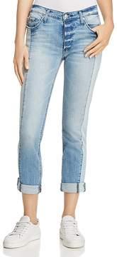Black Orchid Harper Paneled Boyfriend Jeans in It's Not As It Seams