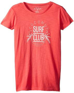 Roxy Kids Endless Music Coconut Surf Club Tee Girl's T Shirt