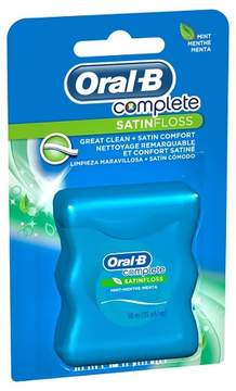 Oral-B Complete Satin Floss - Mint 55 Yard