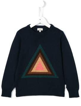 Paul Smith triangle intarsia jumper