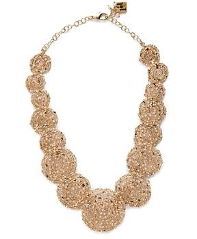 Rosantica BY MICHELA PANERO Pizzo bead-embellished spiral necklace