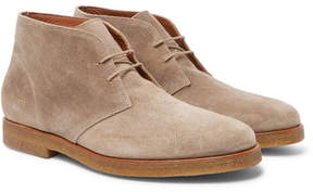 Common Projects Waxed-Suede Desert Boots