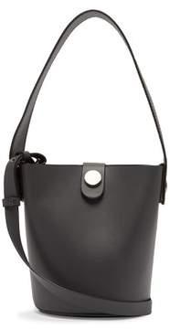 Sophie Hulme Nano Swing Leather Bucket Bag - Womens - Grey