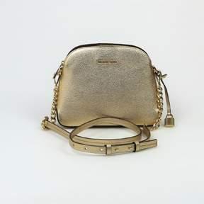 Michael Kors Mercer Medium Pale Gold Dome Messenger Bag, $228 - GOLDS - STYLE