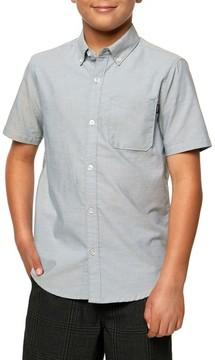 O'Neill Boy's Bank Woven Shirt