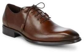 Mezlan Almond Toe Leather Oxfords