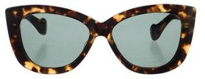 Dita Tortoiseshell Cat-Eye Sunglasses