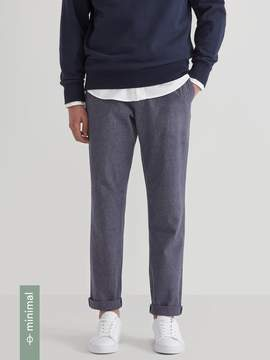 Frank and Oak The Newport Recycled Hemp Chino in Blue Mix