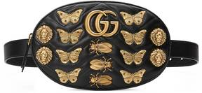 Gucci GG Marmont animal studs leather belt bag