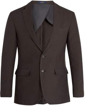 Polo Ralph Lauren Single-breasted cotton-piqué blazer